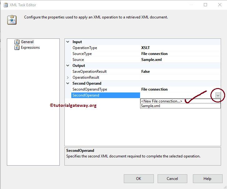 SSIS XML Task to Transform XML File Using XSLT