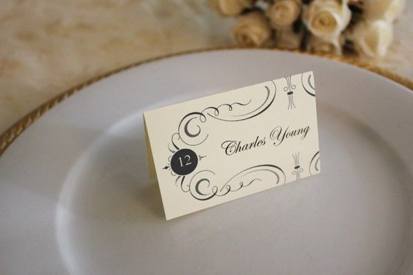 Free Printable Place Cards | The Budget Savvy Bride