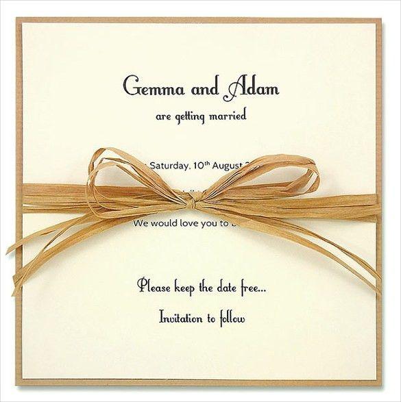 Wedding Invitation Design Templates – 23+ Free JPG, PSD, Indesign ...