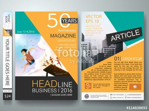 Brochure design template vector.Business flyers cover report ...