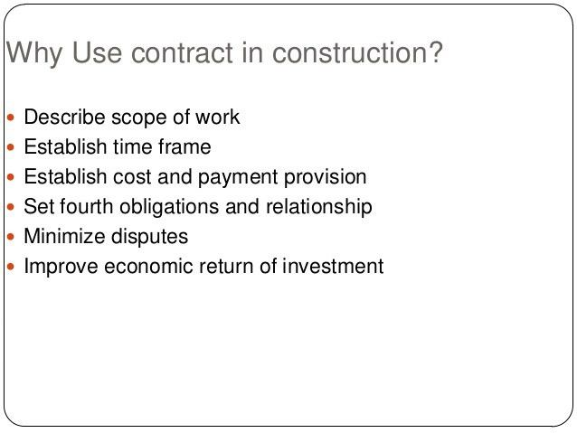 CONTRACTS AND ITS TYPES