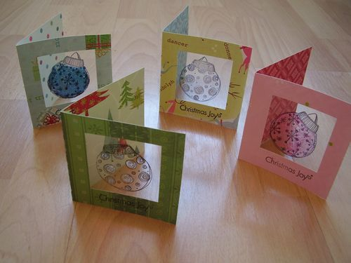 6ichthusfish: Making Christmas Cards...