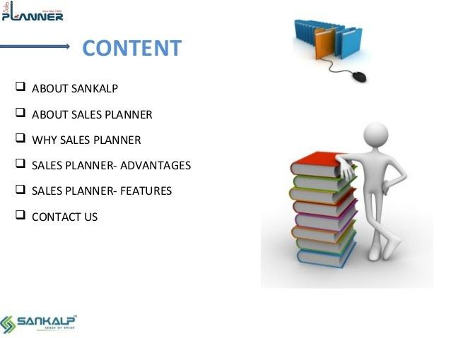 Sales Planner to Track Your Sales