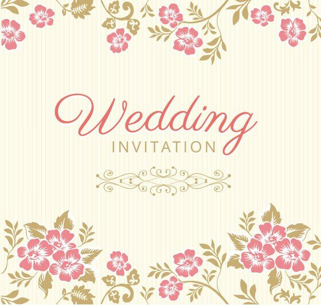10+ Free Vector PSD Floristic Wedding Invitation Card Designs ...