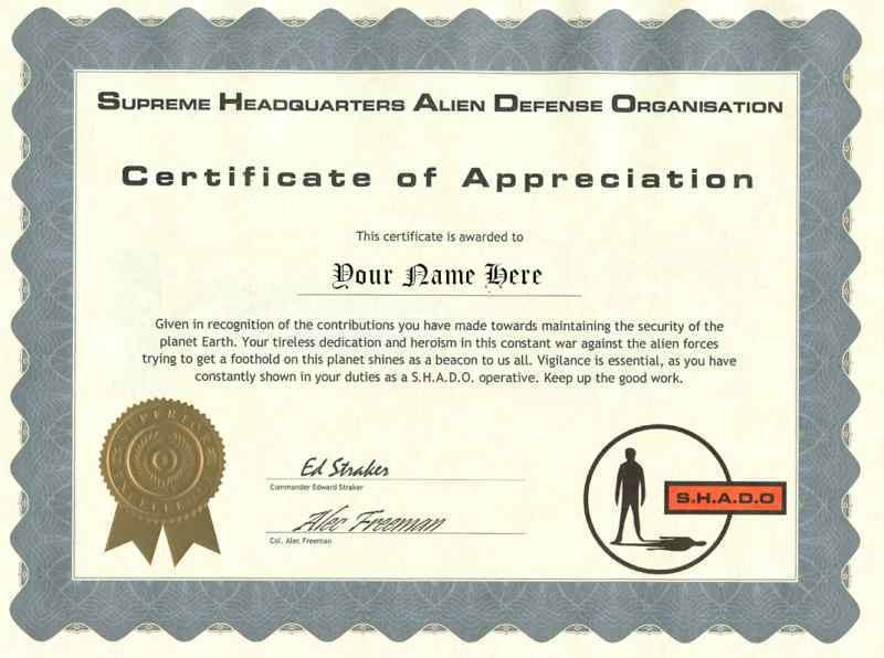 10 Best Images of Sample Certificate Of Appreciation - Sample ...