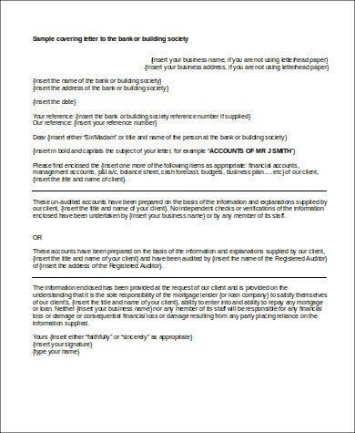 Business Plan Cover Letter Sample - 5+ Examples in Word, PDF