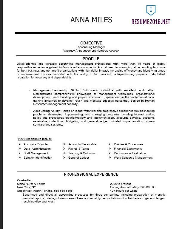 Wonderful Inspiration Federal Resume Example 7 Federal Resume ...