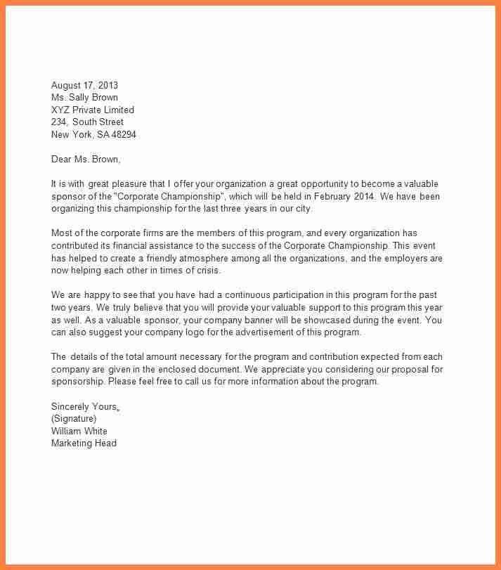 4+ sponsorship letter format | Invoice Example 2017