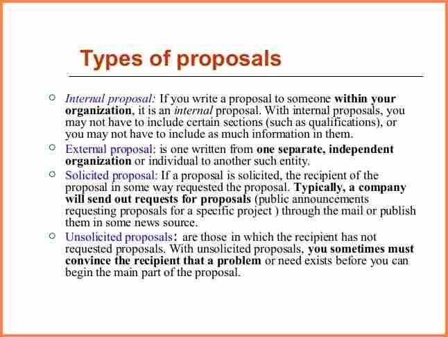 4+ how to write a proposal to start a business | Project Proposal
