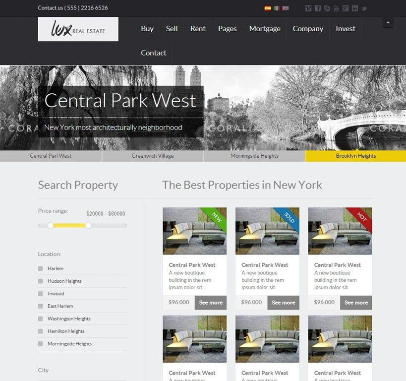 30+ Powerful Real Estate Website Templates - Want To Stand Out?