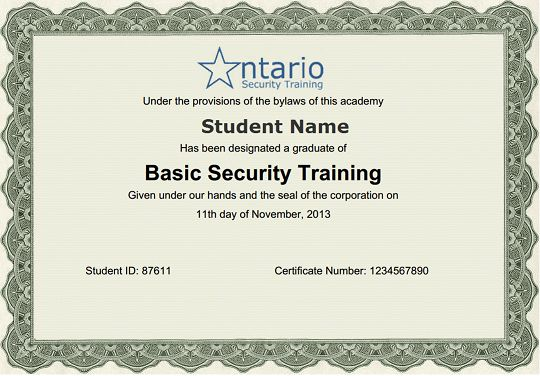 Online Security Guard Training - Online Private Investigator ...