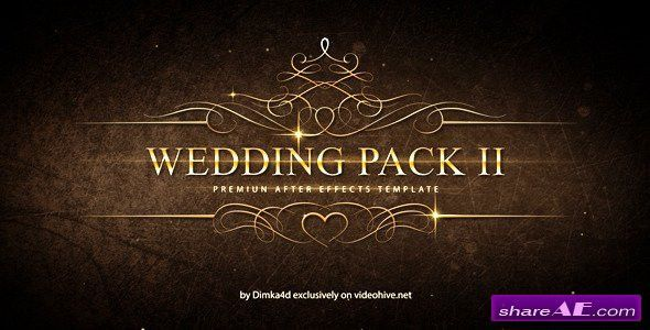 Traditional Wedding Pack - After Effects Templates (Motion Array ...