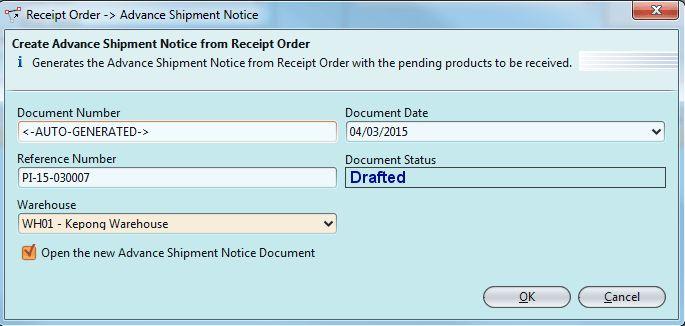 Create Receipt Order - Samooha User SupportSamooha User Support