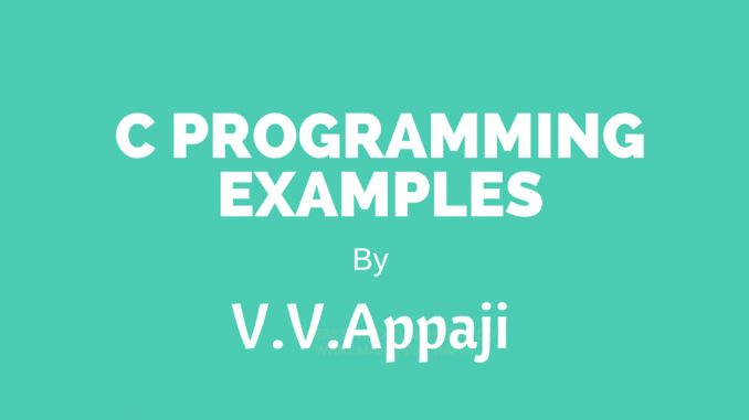 Program Examples To Create A Linked List