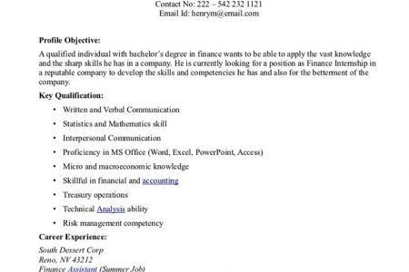 good resume objectives samples 15 the best objective innovation ...