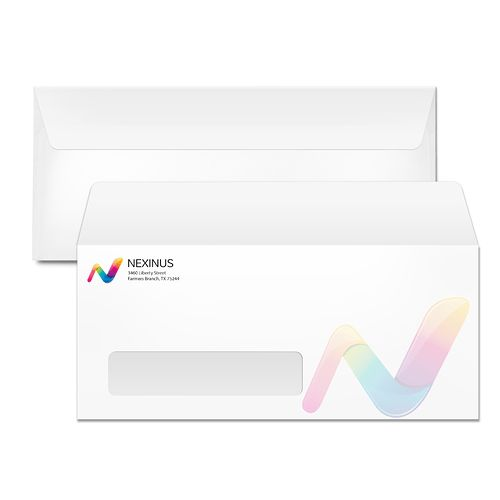 10 Window Envelopes | 48HourPrint.com