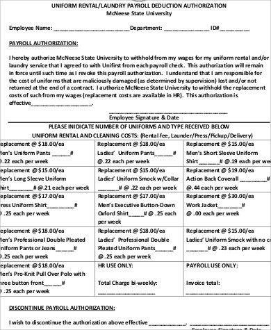 Employee Uniform Form. Form Sales Tax Doc# Uniform Order Form ...