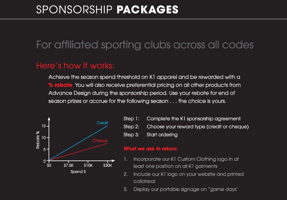 K1 Custom Clothing > Event Calendar > Sponsorship