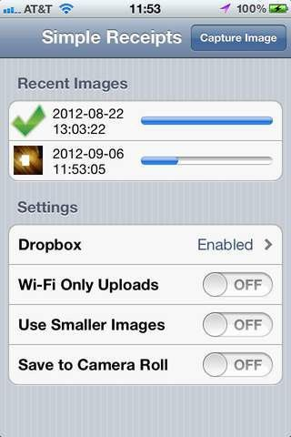 Simple Receipts | iPhone app | App Decide