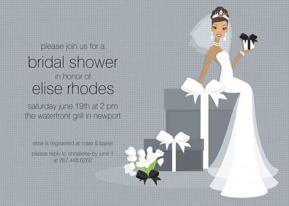 Bridal Shower Invitation Templates - cloveranddot.Com