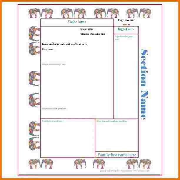 7+ free recipe card template for microsoft word | menstrual calendar