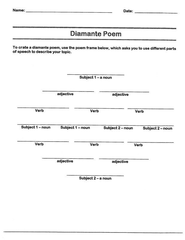 Poem Template - Corpedo.com
