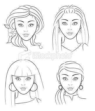 blank face printable - Google Search | facepainting | Pinterest ...