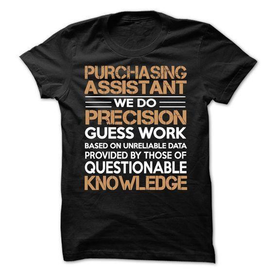 PURCHASING ASSISTANT T Shirt, Hoodie, Sweatshirt | +3000 Career T ...