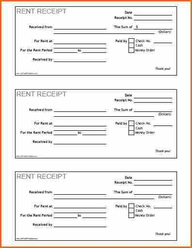 7+ how to print receipts - Budget Template Letter