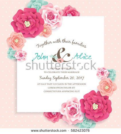 Save The Date Template Stock Images, Royalty-Free Images & Vectors ...
