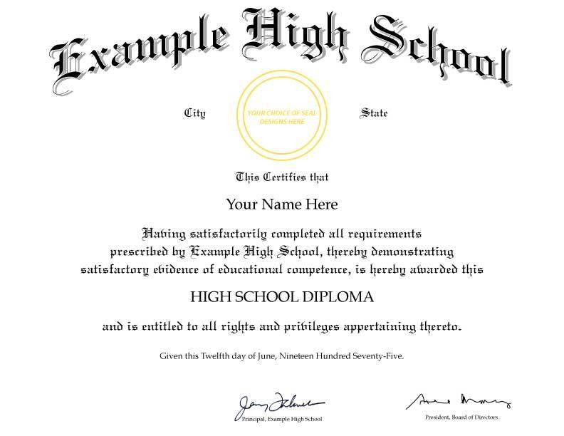 FAKE DIPLOMA TEMPLATE // D21 - Cheaper-than-Tuition!