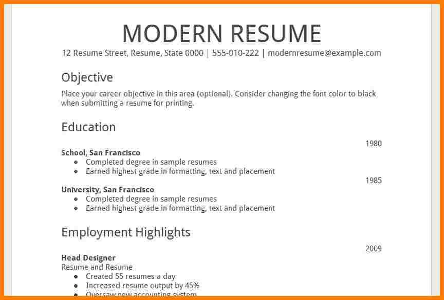 Resume Template Google 13 Entering-data-into-template - uxhandy.com