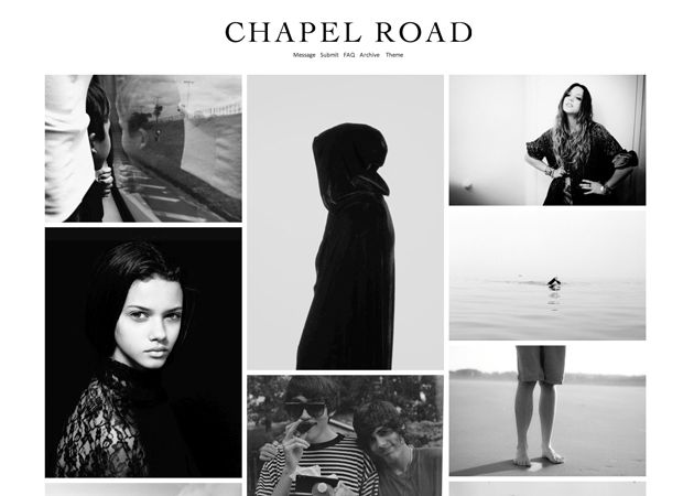 Tumblr - Chapel Road - http://www.tumblr.com/themes/by/level82 ...