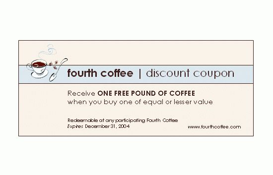 Discount Coupon Template | Sample Format