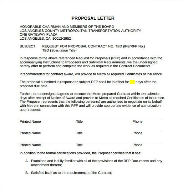 Sample Proposal Contract. Carpet Cleaning Proposal Template Sample ...