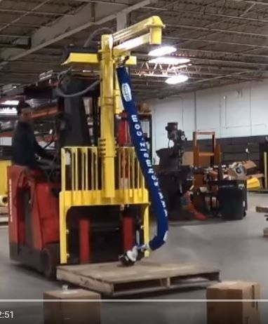 Mobile Lift Assist - Fork Truck Mounted Order Picker   Ohio Tool ...