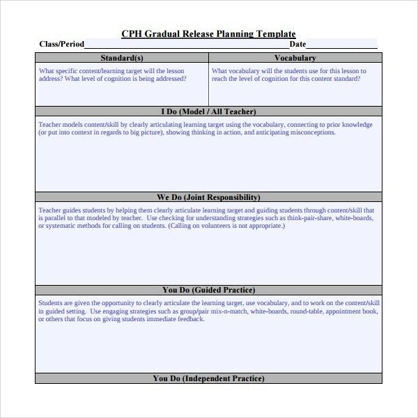 Sample Release Plan Template - 7+ Free Documents in PDF
