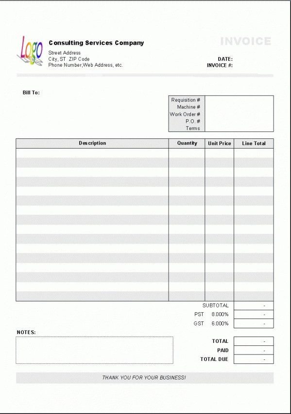 Download Plumbing Invoice Template Australia | rabitah.net