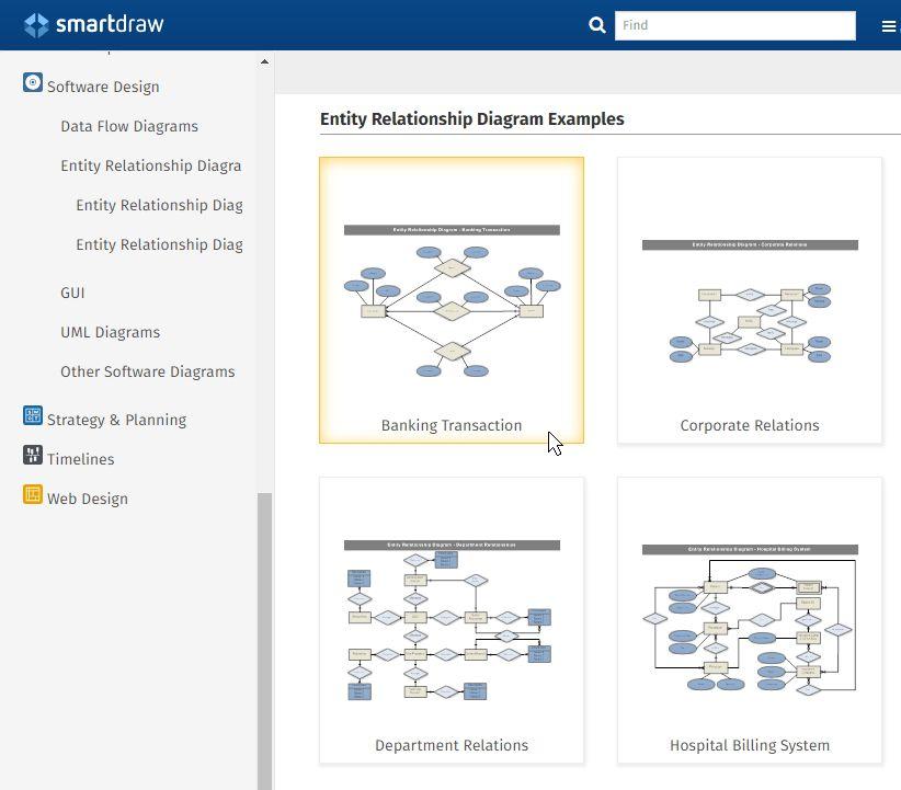 ER Diagram Tool | Free Download & Online App