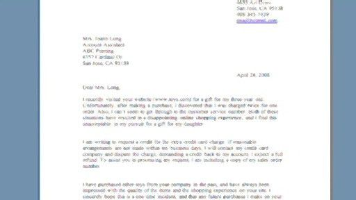 Business Letter. Image Titled Write A Business Letter To Customers ...