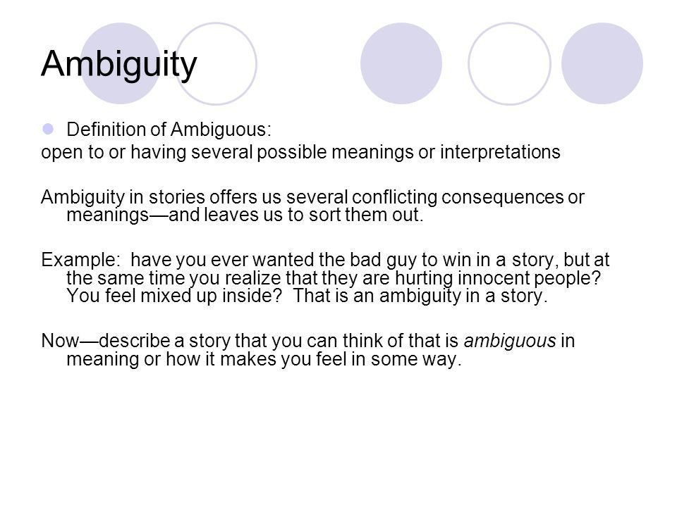 Irony and Ambiguity Holt Chapter ppt video online download