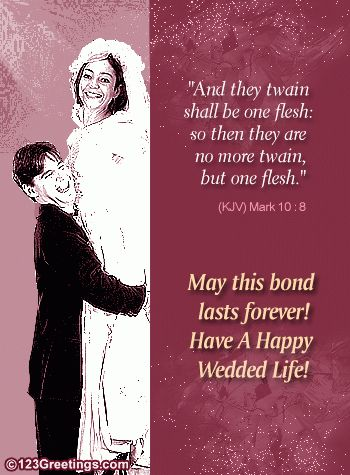 Christian Wedding Card. Free Around the World eCards, Greeting ...