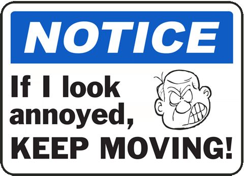Novelty Signs for Your Home or Office – Silly Signs for Sale