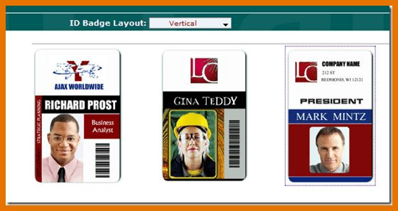 8+ id card template word | Itinerary Template Sample