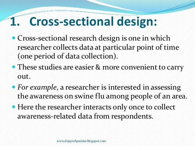 Nonexperimental research design