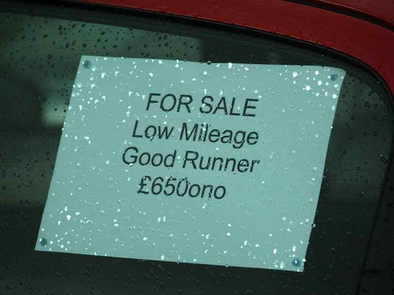 car sales Archives - Not £2 Grand
