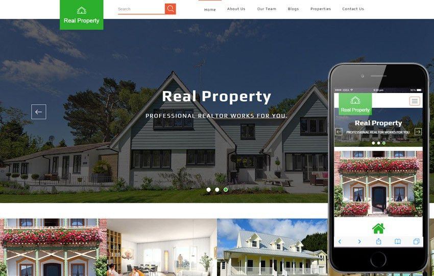 Real Estate - w3layouts.com