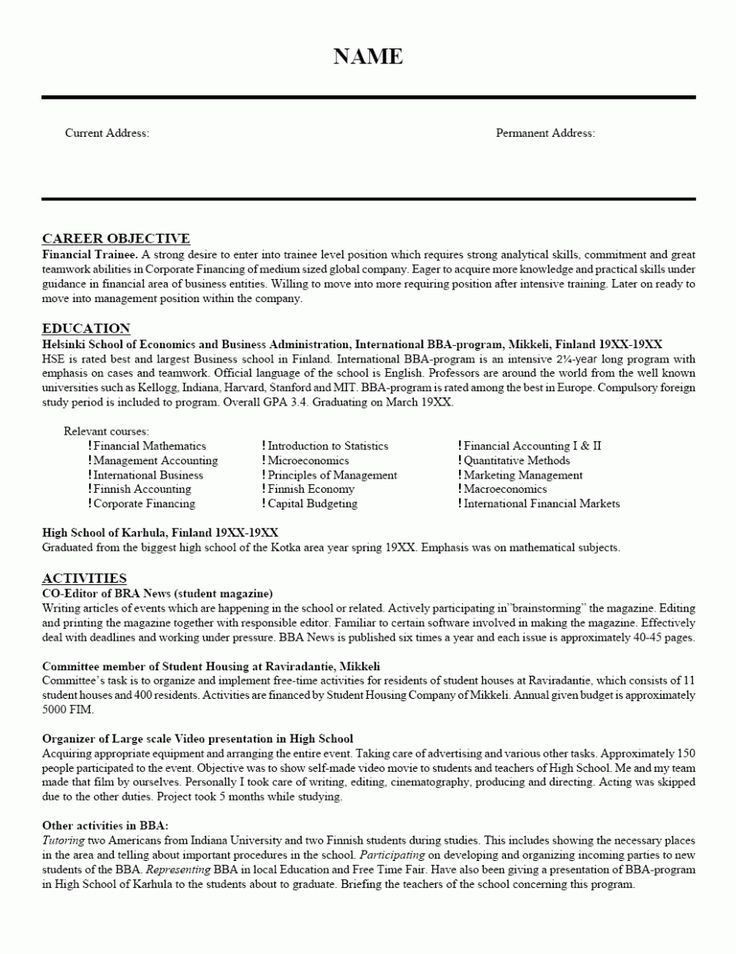Great Teacher Resumes, 10+ fresher teacher resume examples ...