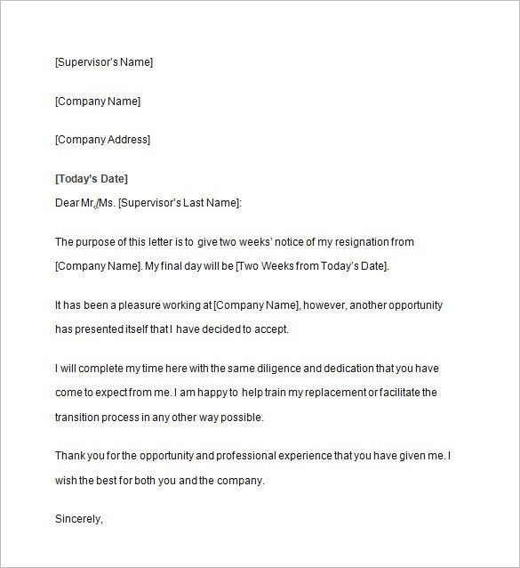 Notice Letter – 15+ Free Samples, Examples, Format Download ...