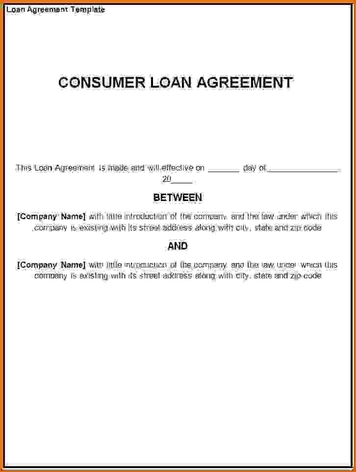 personal loan agreement templateReference Letters Words ...